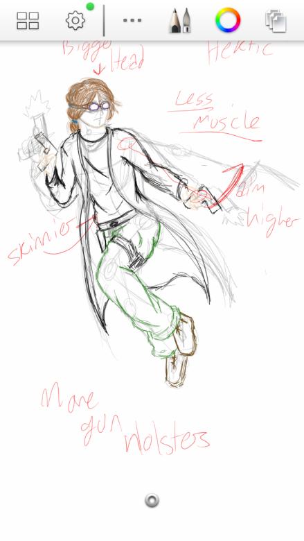 Fan rendition of Hektik (Sketch)